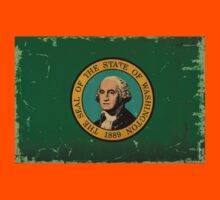 Washington State Flag VINTAGE Kids Clothes