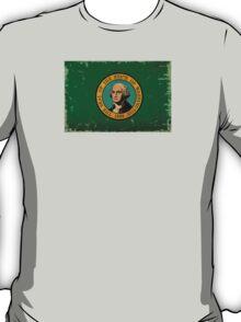 Washington State Flag VINTAGE T-Shirt
