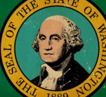 Washington State Flag VINTAGE Sticker