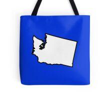 Washington State Outline Tote Bag