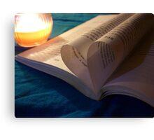 Book,Reading,Read,Words,Literature,Bookworm Canvas Print