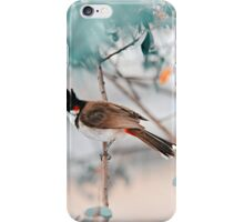 Red-Whiskered Bulbul. Nature in Alien Skin iPhone Case/Skin
