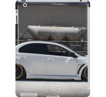 Side shot Evo X iPad Case/Skin