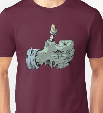 zombie thumbs up Unisex T-Shirt