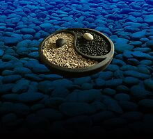 Yinyang Series - Blue by Keith Richardson