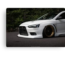 Front End Evo X Canvas Print