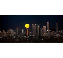 Super Moon Photographic Print