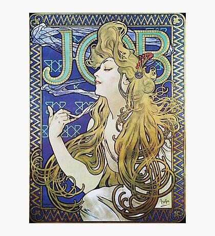 Alphonse Mucha - Job 1898  Photographic Print