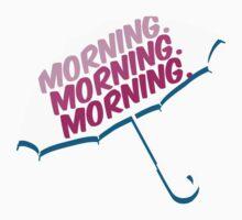 morning. One Piece - Short Sleeve