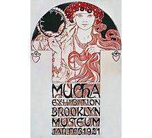 Alphonse Mucha - Mucha Exhibition Photographic Print