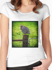 Fowl Play Women's Fitted Scoop T-Shirt