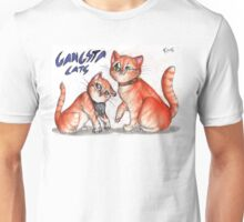 Gangsta cats Unisex T-Shirt