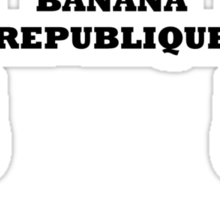 Banana Republique Sticker