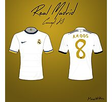 Real Madrid Nike Concept Kit Photographic Print