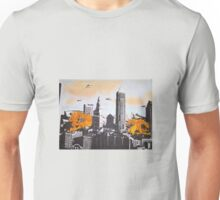 Cleveland pen and ink, acrylic fire monsters Unisex T-Shirt