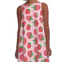 Berry-Licious A-Line Dress