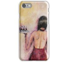 Mysterious Waitress iPhone Case/Skin