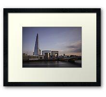 Divagation - London Lights Framed Print