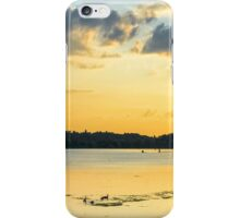 Strathy Sunset 2 - edited iPhone Case/Skin