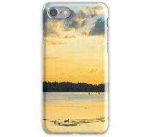 Strathy Sunset 2 - edited iPhone Case/Skin