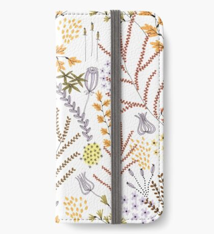 Autumnal Seed iPhone Wallet/Case/Skin