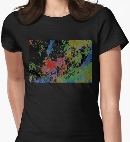 Abstract 101 Womens Fitted T-Shirt