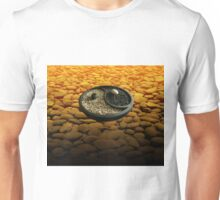 Yinyang Series - Orange Unisex T-Shirt