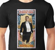 Performing Arts Posters Wm H Wests Big Minstrel Jubilee formerly of Primrose West 1864 Unisex T-Shirt