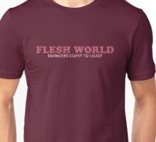 FLESH WORLD Swingers Coast to Coast Unisex T-Shirt