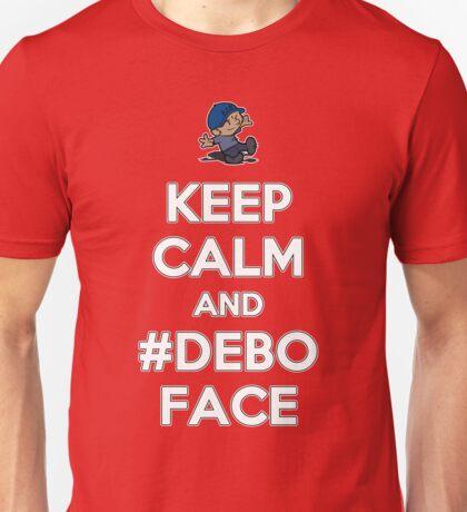Keep Calm and Deboface Unisex T-Shirt