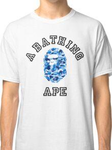 Bape Camo Blue Classic T-Shirt