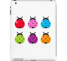 Stylized lady-bugs collection. Vector arts. iPad Case/Skin