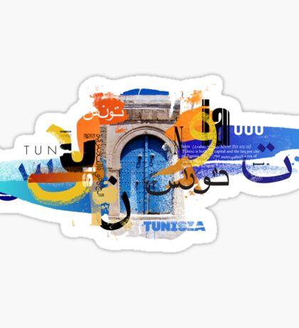 Tunis Door Sticker