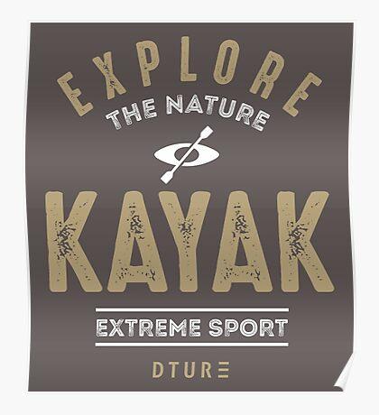 Kayak Poster