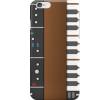 Old school synth iPhone Case/Skin