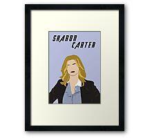 Sharon Carter Framed Print
