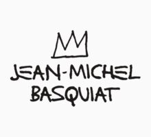 Jean michel Basquiat Shirt Jumper Sticker by DeadWombatTV