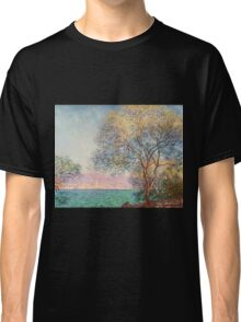 Claude Monet - Antibes In The Morning  Classic T-Shirt