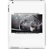 Ali, faith iPad Case/Skin