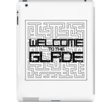 Welcome to the Glade. Maze Runner iPad Case/Skin