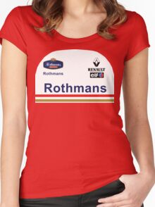 GP2 Tribute - Williams Women's Fitted Scoop T-Shirt