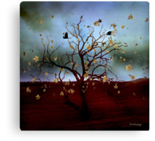 Scattered thoughts ... Canvas Print