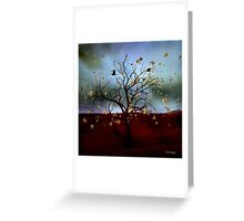 Scattered thoughts ... Greeting Card