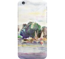 Juergenshof After Sunset iPhone Case/Skin