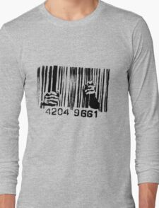 Barcode t-shirt Long Sleeve T-Shirt