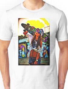 Longboard Girl  Unisex T-Shirt