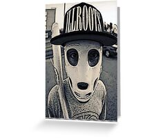 Baseball mask Greeting Card