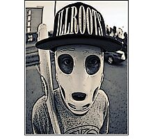 Baseball mask Photographic Print