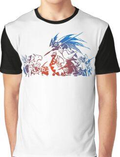 -FINAL FANTASY- Final Fantasy Tactics TWOTL Logo Graphic T-Shirt