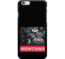Montana Spray t-shirt iPhone Case/Skin